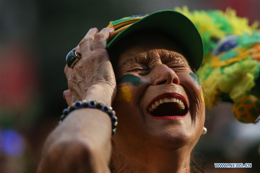 Brazil fans' unmatched sorrow