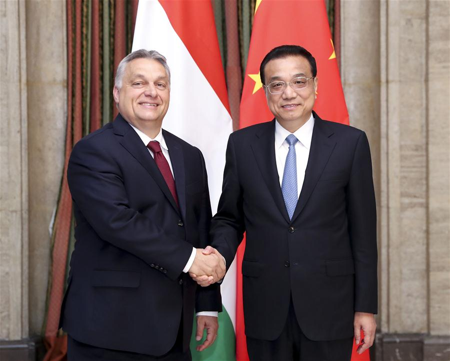 Li calls on Orban to push forward Hungary-Serbia railway