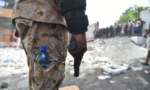Fuse lit in Haiti
