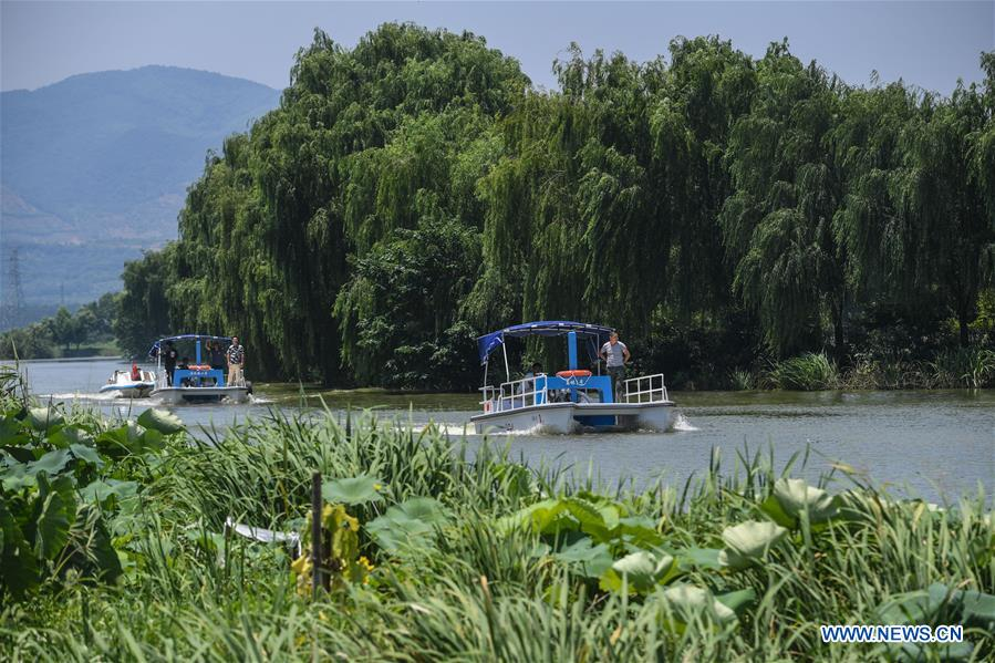 "Local gov't introduces ""river chief for summer"" mechanism for flood prevention in China's Zhejiang"