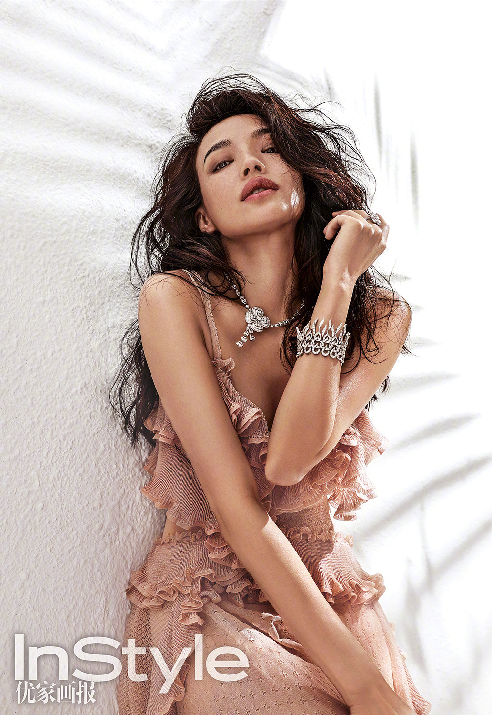 Chinese top actress Shu Qicovers the fashion magazine