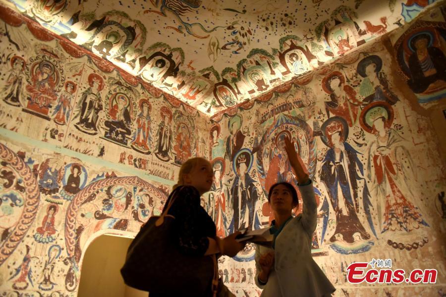 Dunhuang grotto art goes digital in Hong Kong show