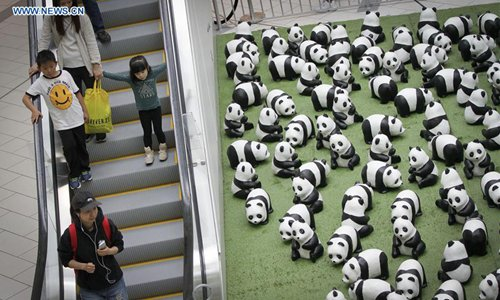 """1,600 Pandas"" begins Canada exhibition tour in Vancouver"