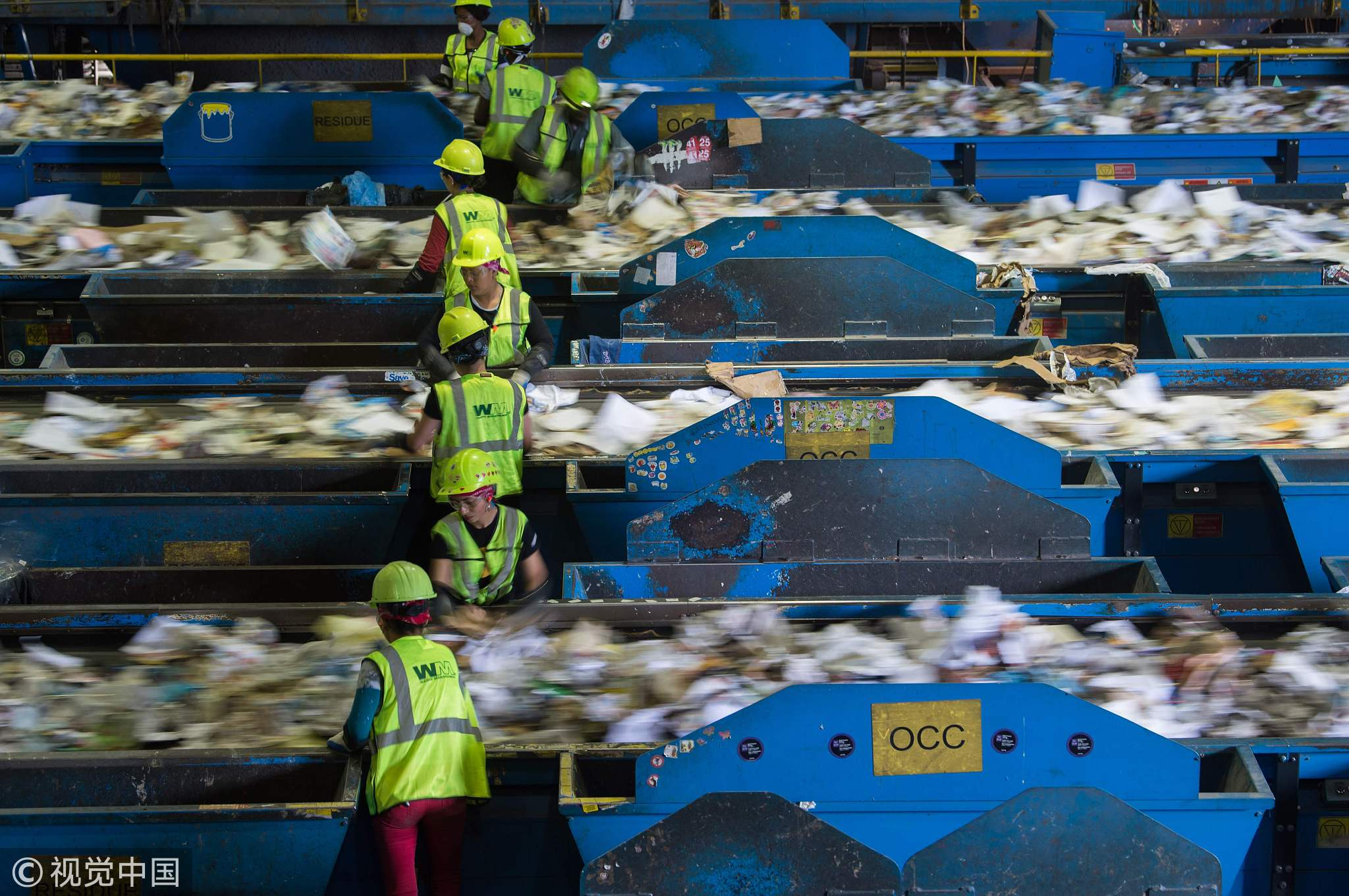 Tons of recycled trash are dumped in the US since China stopped buying plastic scrap