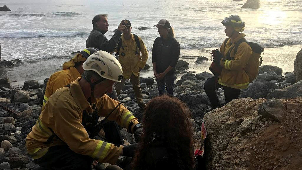 American woman survives seven days in the wild after plunging off a cliff in her SUV