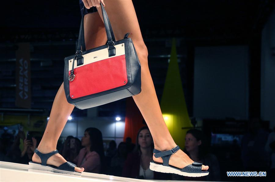 50th Int'l Shoe and Accesories Fashion Fair held in Sao Paulo
