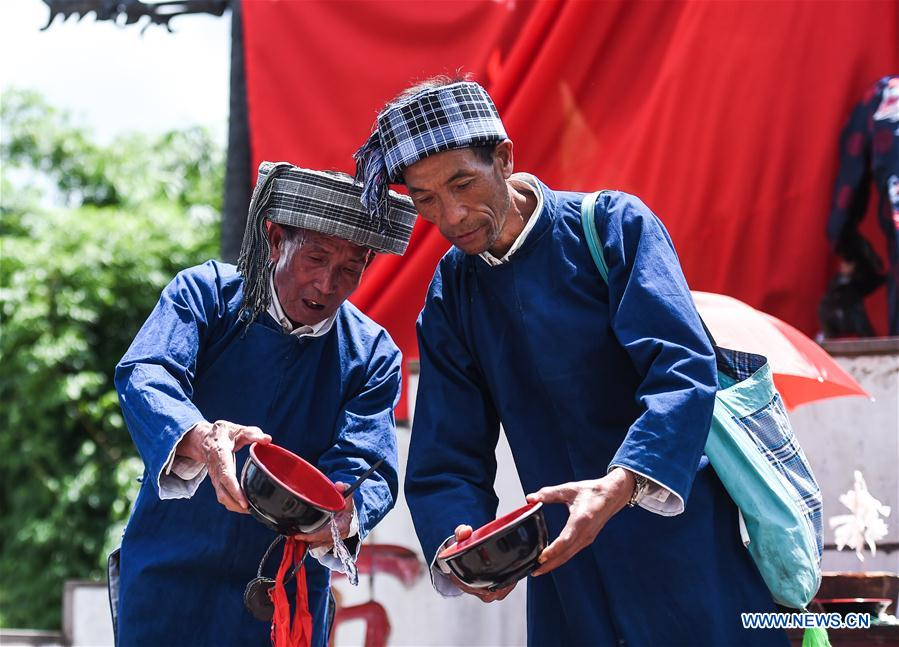 Traditional Double Sixth Festival celebrated in SW China's Guizhou
