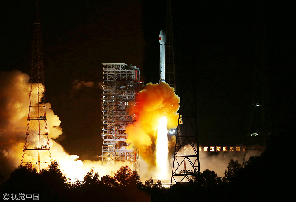 The Chang'e-5 T1 spacecraft lifts off from the Xichang Satellite Launch Center in Sichuan Province on October 24, 2014. [File photo: VCG]