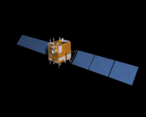 A rendering of China's Chang'e 2 lunar orbiter [File photo: China National Space Administration]