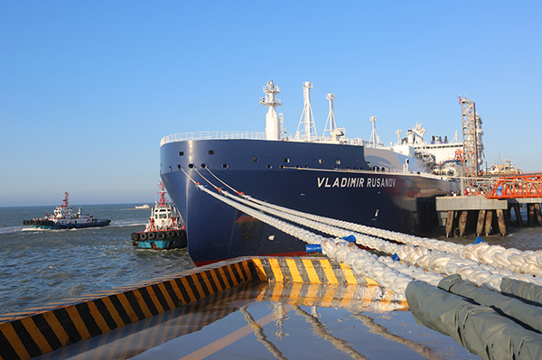 First shipment of gas from Yamal LNG project arrives in China