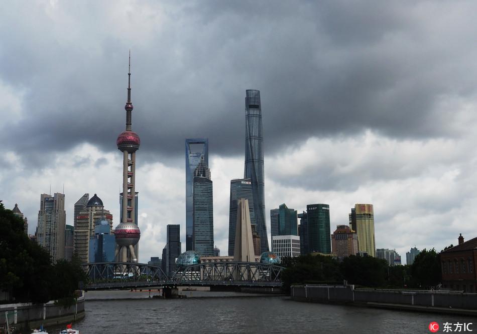 Photo taken on July 21 2018 shows Lujiazui Financial & Trade zone in Shanghai. [Photo: IC]