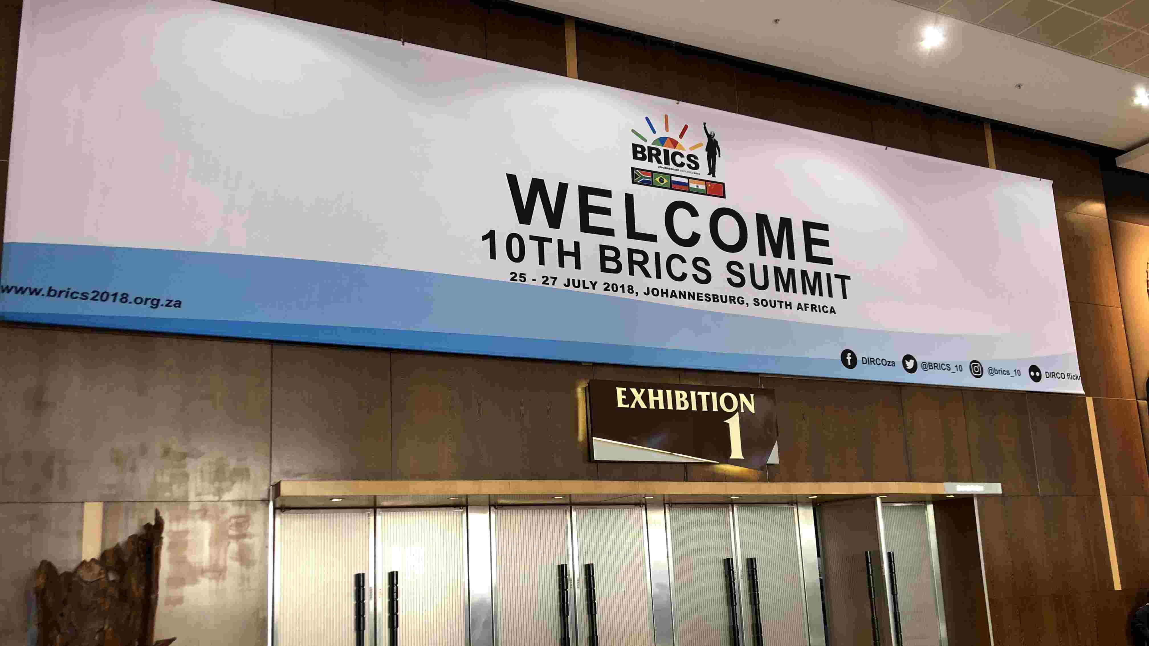 Take a look behind the scene as the 10th BRICS Summit approaches