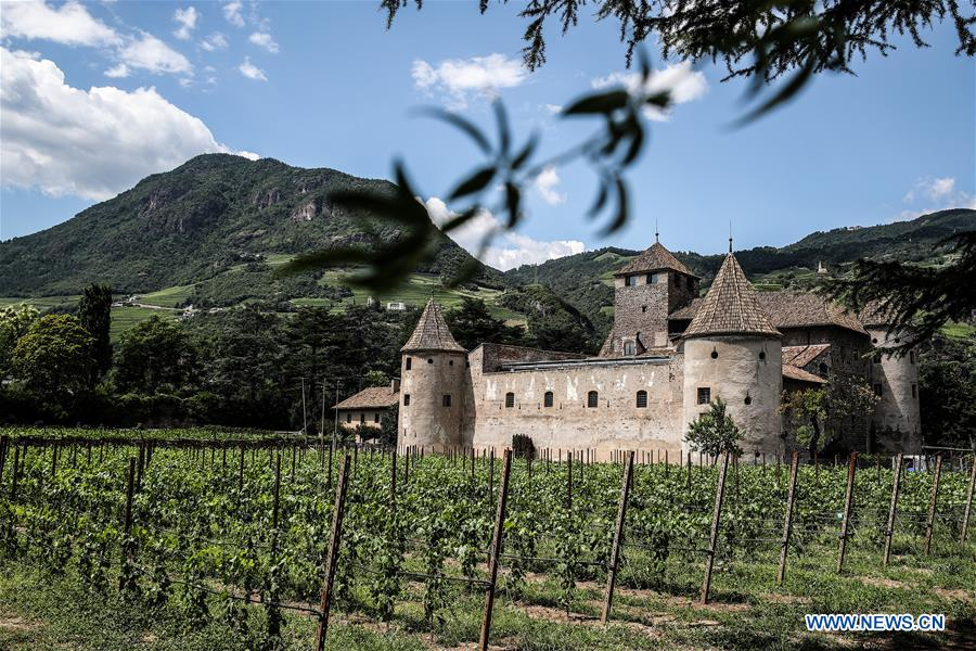 Bolzano attracts tourists during summer time