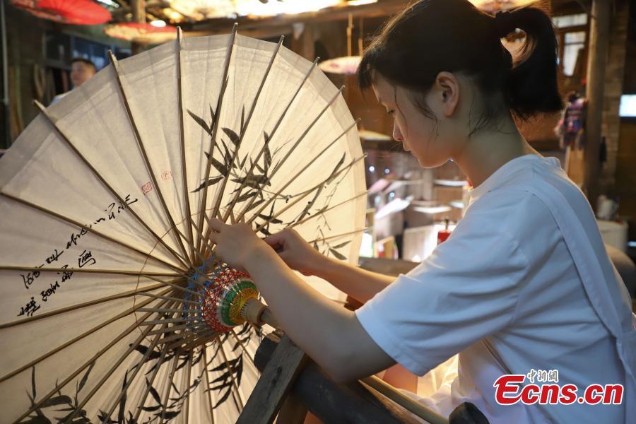 Ancient crafts help old town prosper