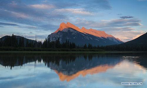 Scenery of Canada Rockies
