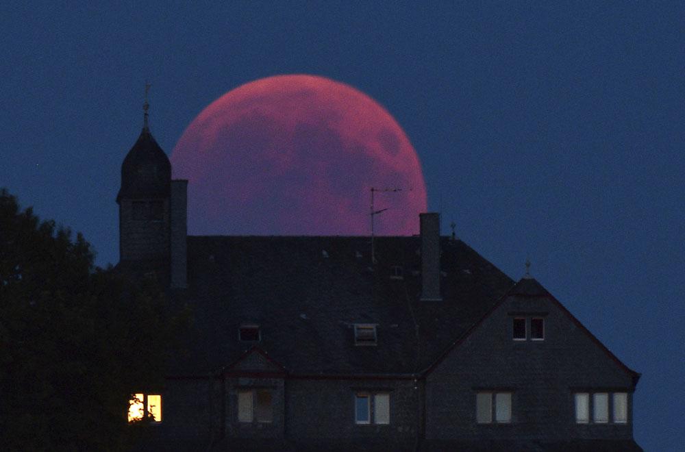 Europe Lunar Eclipse