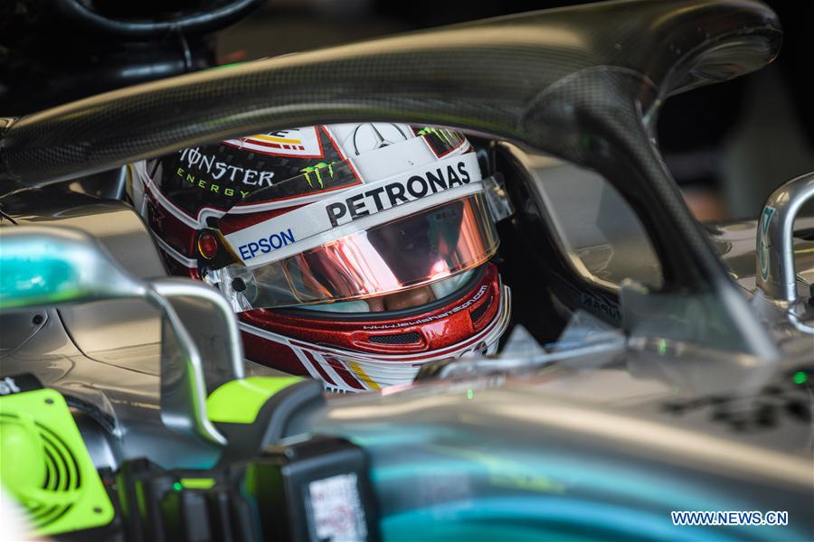 In pics: free practice of Hungarian Formula One Grand Prix