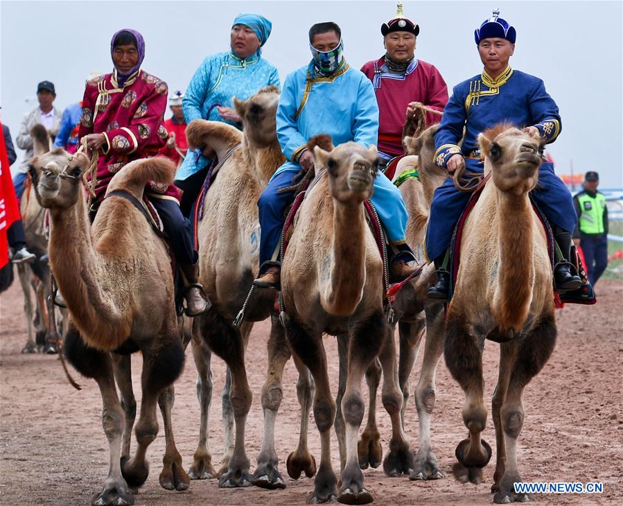 Traditional ethnic minorities sports meeting held in NW China's Gansu