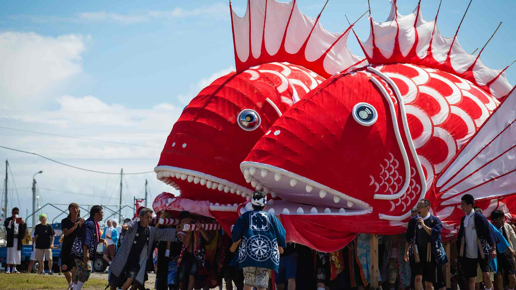 Fishy going on in Toyohama! Explore the Sea Bream Festival in Japan
