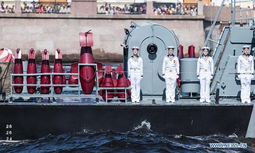 Russian Navy Day marked in St. Petersburg