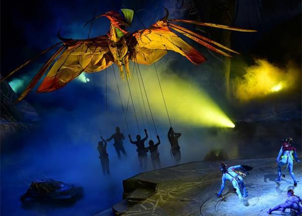 Cirque du Soleil's 'Toruk' opens in Beijing