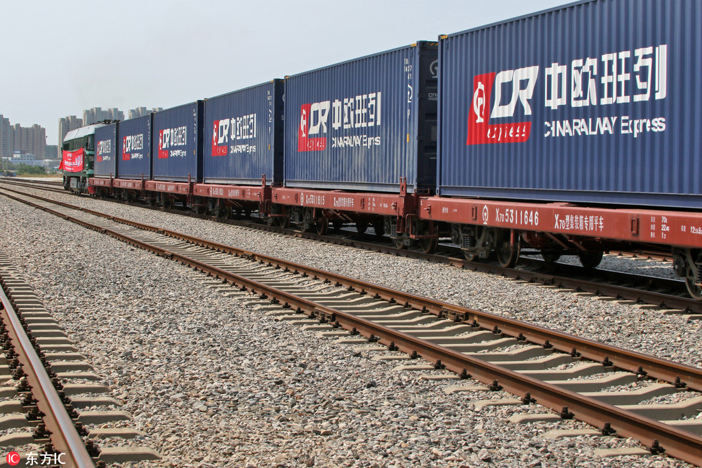 China opens new freight train service to Milan