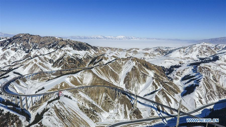 Xinjiang speeds up transportation, logistics development
