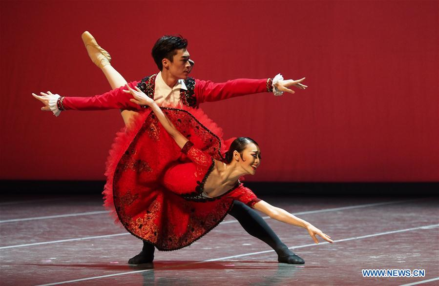 Sixth Shanghai Int'l Ballet Competition closes