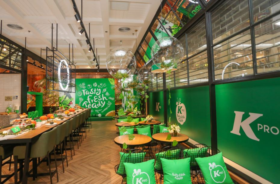 Beijing's first green KFC outlet launched, without buckets of chicken