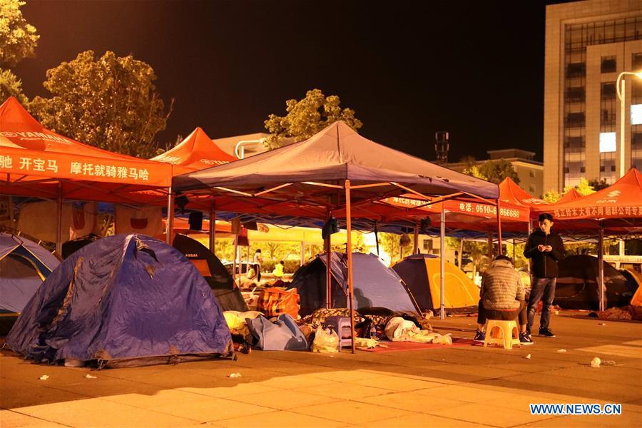 Emergency shelter set following magnitude-5 quake in Yunnan