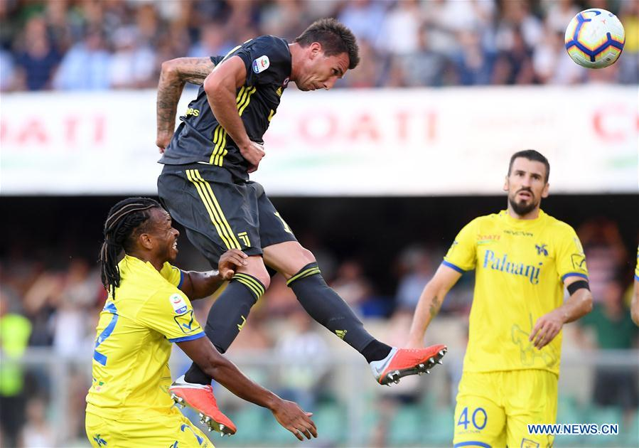 Juventus beats Chievo 3-2 during Serie A soccer match in Italy