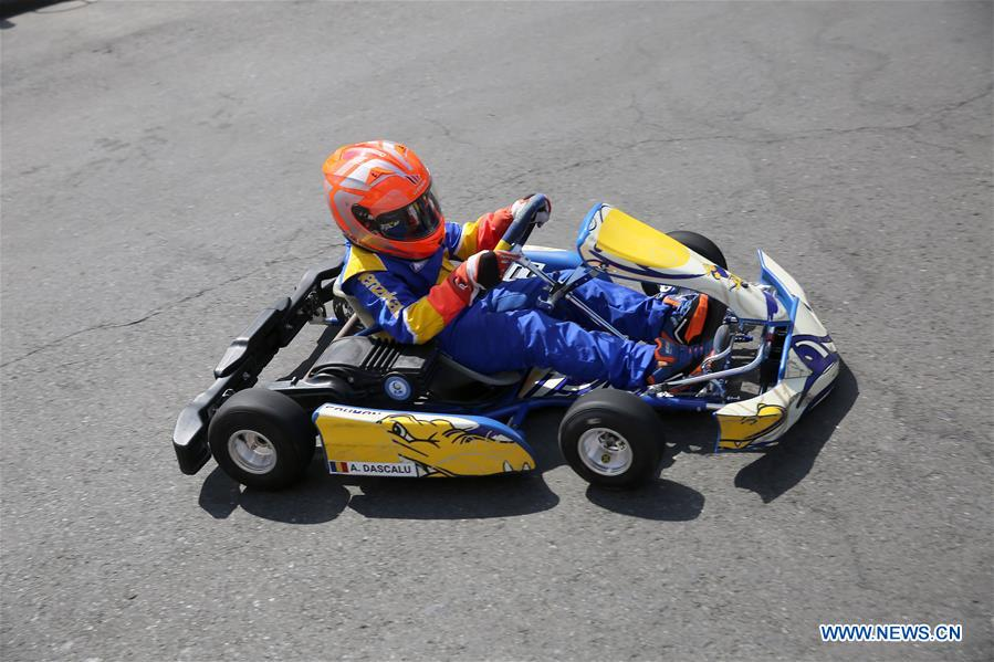In pics: electric karting Super Cup of Romania