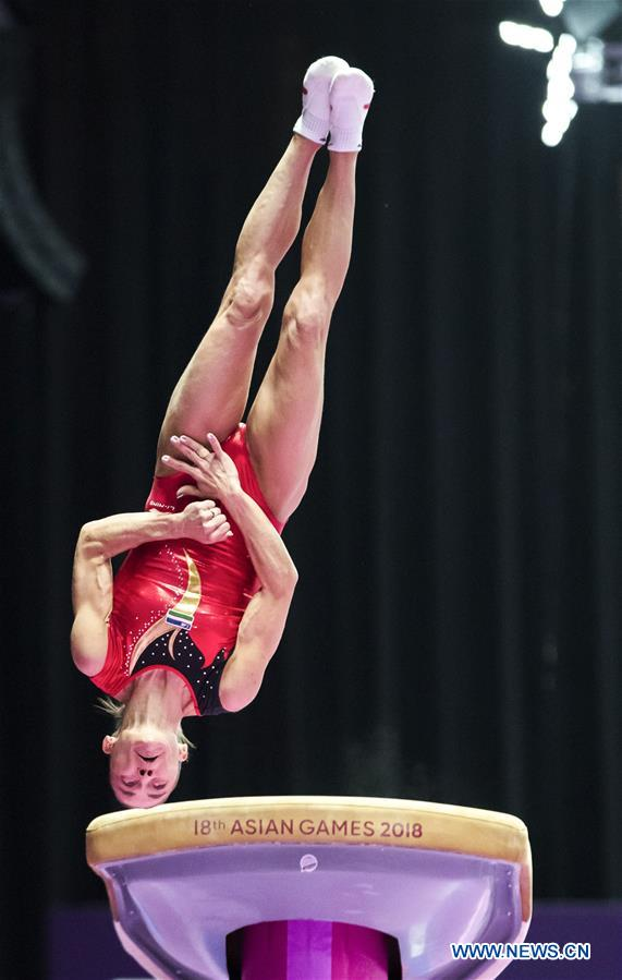 Artistic Gymnastics held at Asian Games 2018 in Jakarta, Indonesia