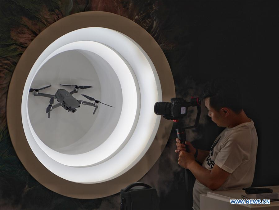 DJI releases new Mavic drone in Beijing