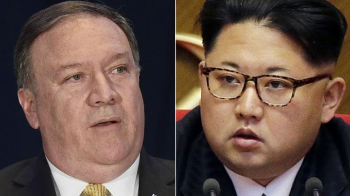 U.S. State Secretary Mike Pompeo and Kim Jong Un, top leader of the Democratic People's Republic of Korea (DPRK) [File Photo: AP]