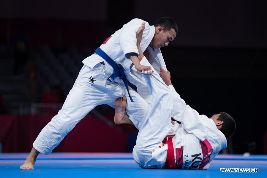Highlighs of Ju-Jitsu Newaza at 18th Asian Games