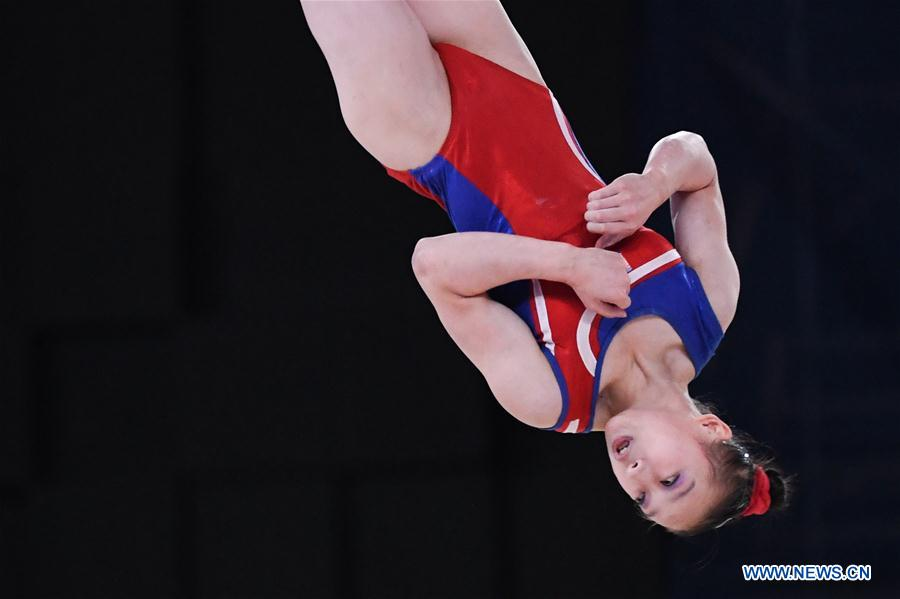 Highlights of Artistic Gymnastics Women's Floor Exercise Final at 18th Asian Games