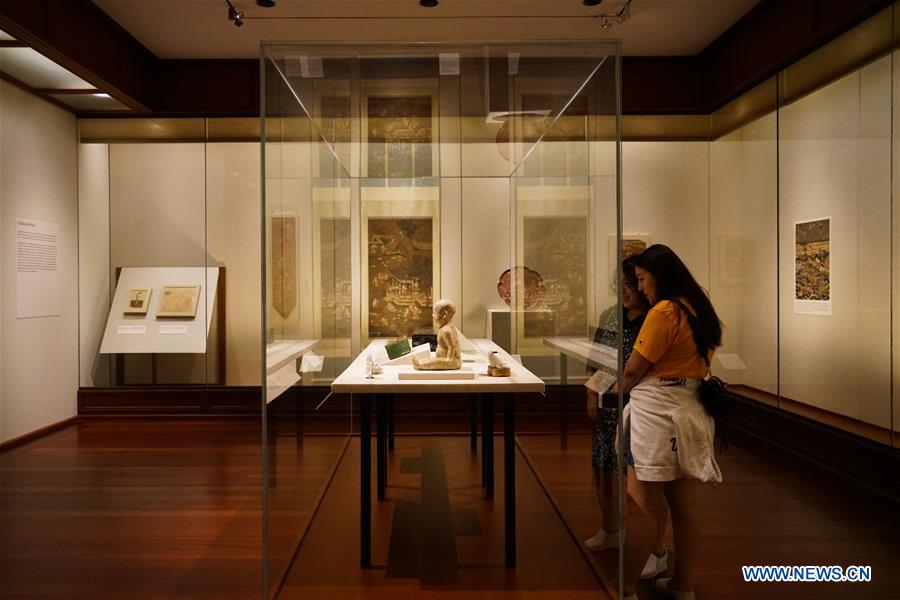 Exhibition showcases Chinese artworks in NY