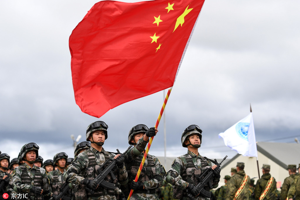 PLA takes part in SCO anti-terrorism drill in Russia