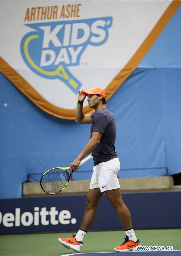 Arthur Ashe Kids' Day of U.S. Open held in New York