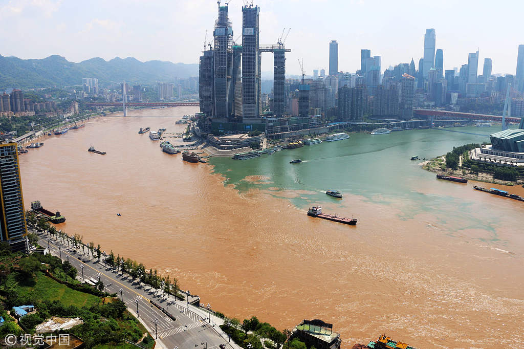 Chaotian Gate draws attention in Chongqing