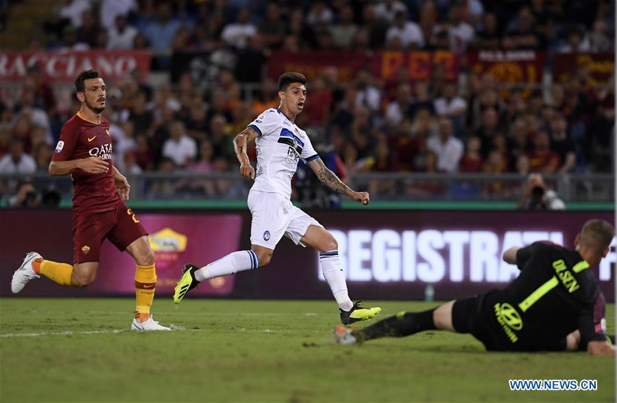 Roma ties 3-3 with Atalanta during Serie A soccer match