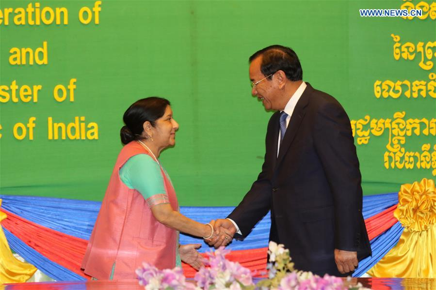 Cambodia, India focus bilateral cooperation on ancient temple restoration, diplomatic training