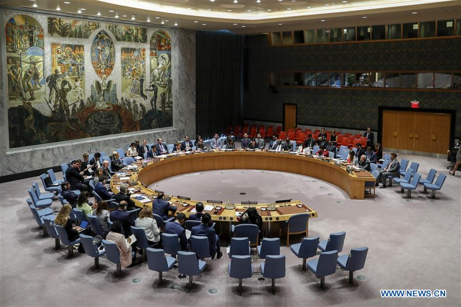 UN Security Council holds debate on int'l peace and security