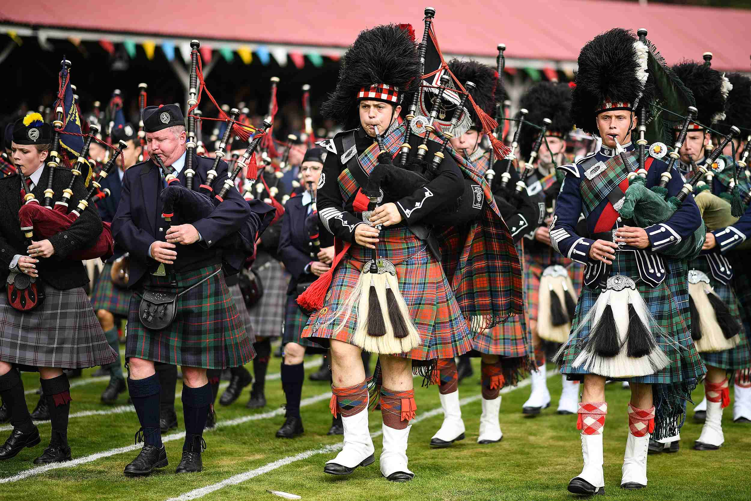 The Braemar Gathering commences in Scotland