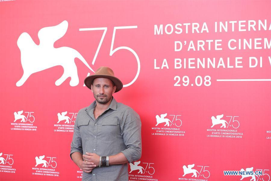 """In pics: photocall of """"Freres Ennemis"""", """"Suspiria"""" at Venice film festival"""