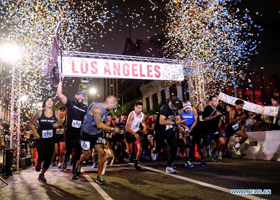 """Happy Birthday L.A. 5K 2018"" held in Los Angeles"