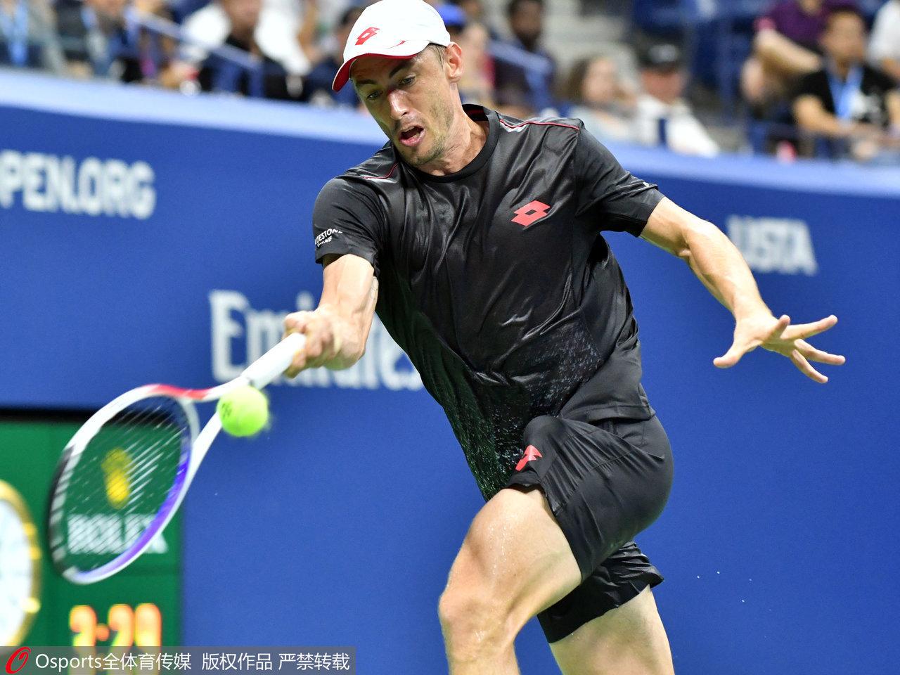 Millman sends Federer crashing out of US Open