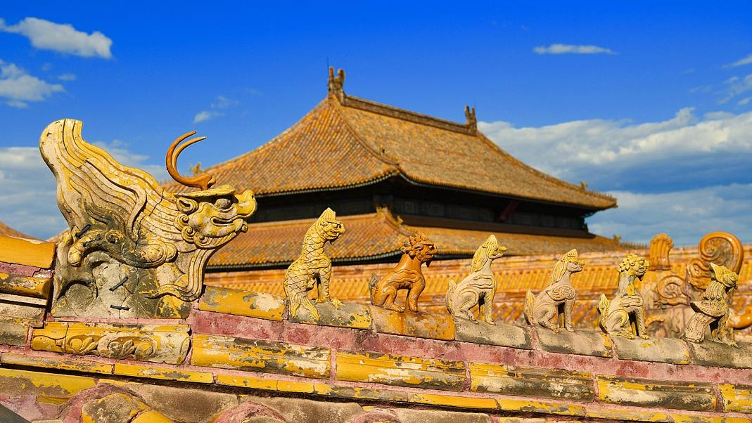 Renovation begins at emperor's office at the Palace Museum