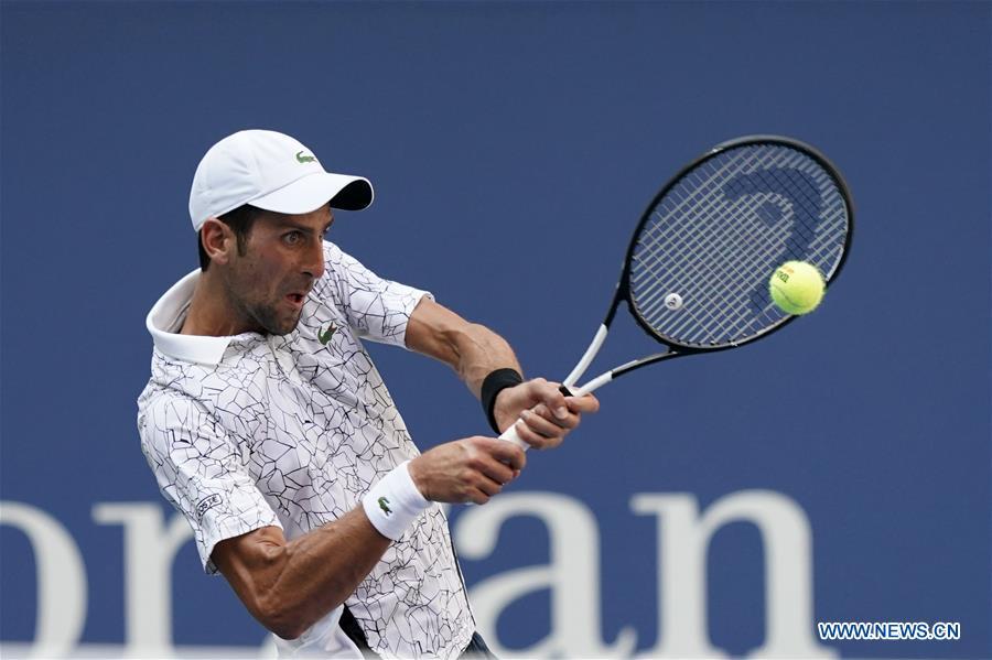 Djokovic beats Sousa 3-0 in U.S. Open men's singles 4th round